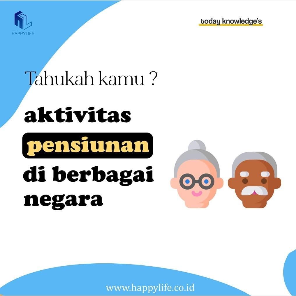aktivitas pensiunan di berbagai negara