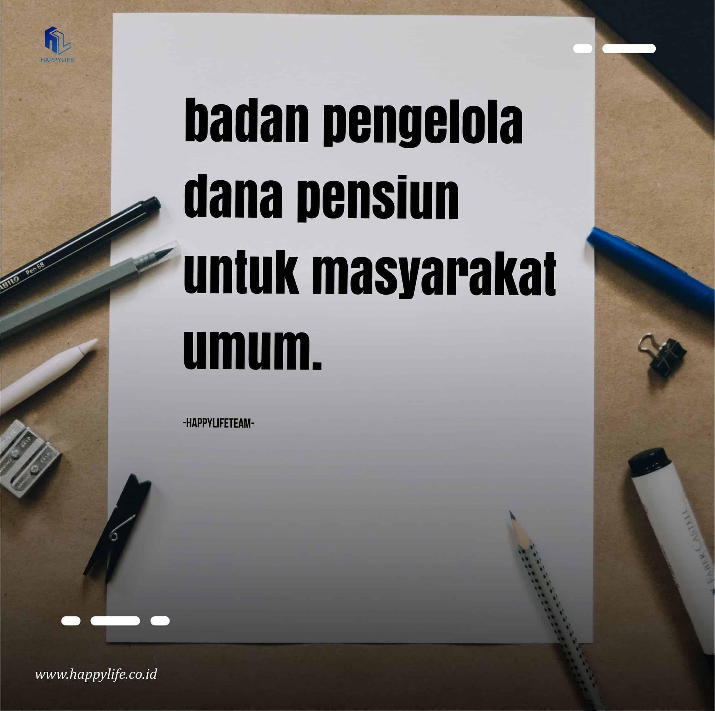 Badan Pengelola Dana Pensiun di Indonesia